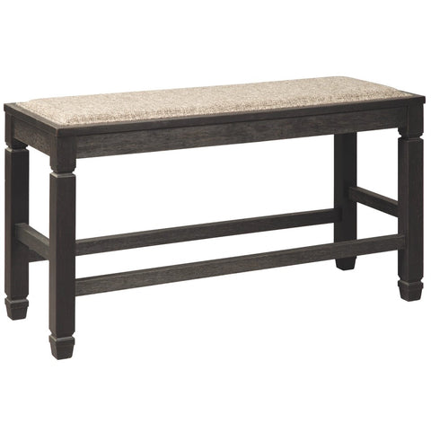 Edmonton Furniture Store | Black Textured Counter Bench - D736