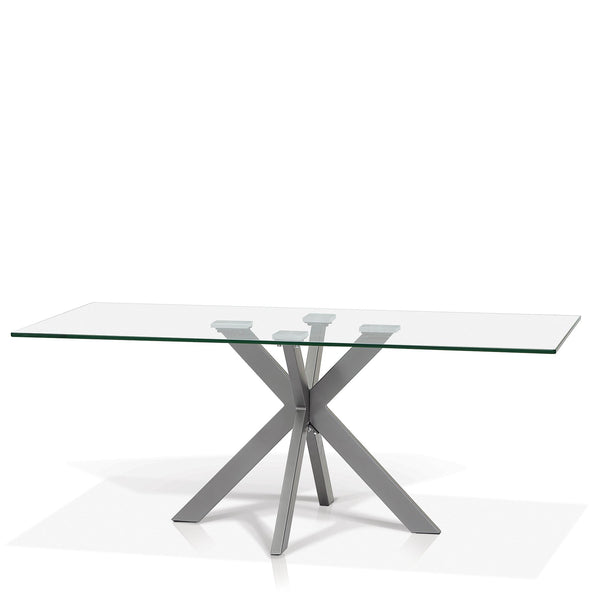 Rectangular Glass Top Coffee Table - Darron