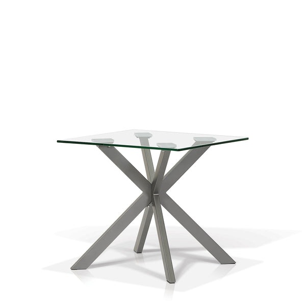 Glass Top End Table - Darron