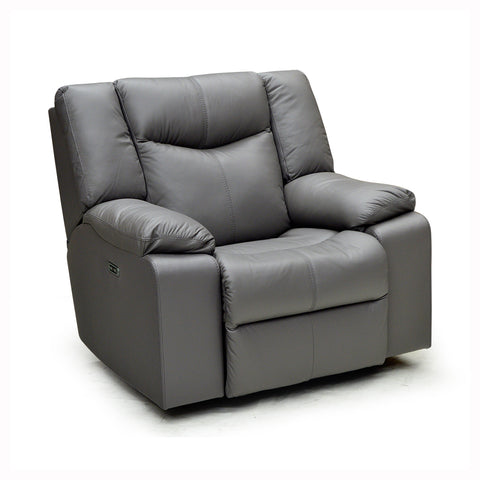Canadian Made Custom Palliser Power Headrest Reclining Chair - Delta