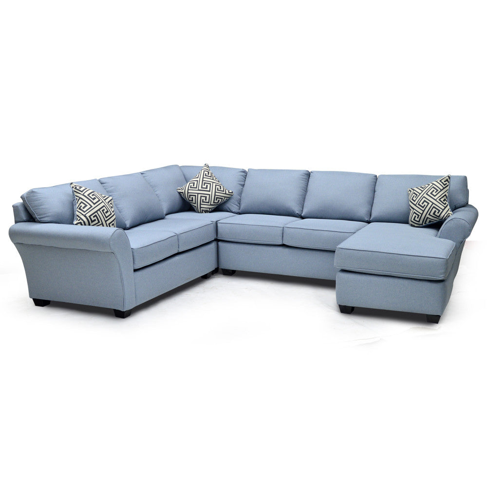 Custom Fabric Sectional - 0704