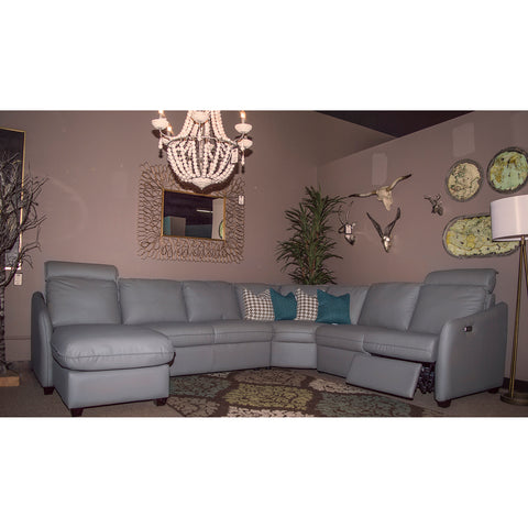 Edmonton Furniture Store | Palliser Custom Modern Reclining Sectional - Ethan