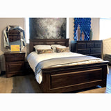 Solid Wood Canadian-Made Queen Bed - Henley