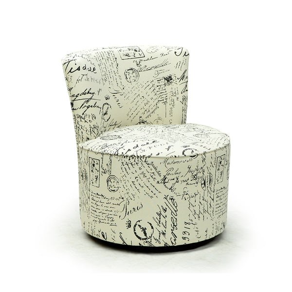 Fabric Swivel Accent Chair - I 8094