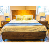 Edmonton Furniture Store | Solid Wood Live Edge Bedroom Set  - 1692