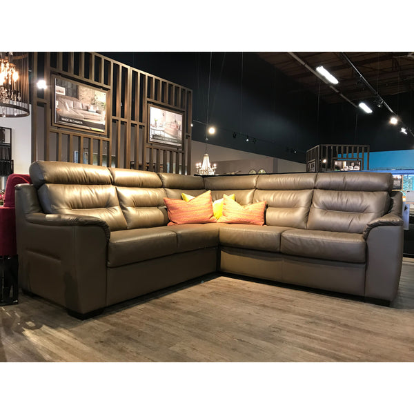 Edmonton Furniture Store | Palliser Custom Sectional - Denmark