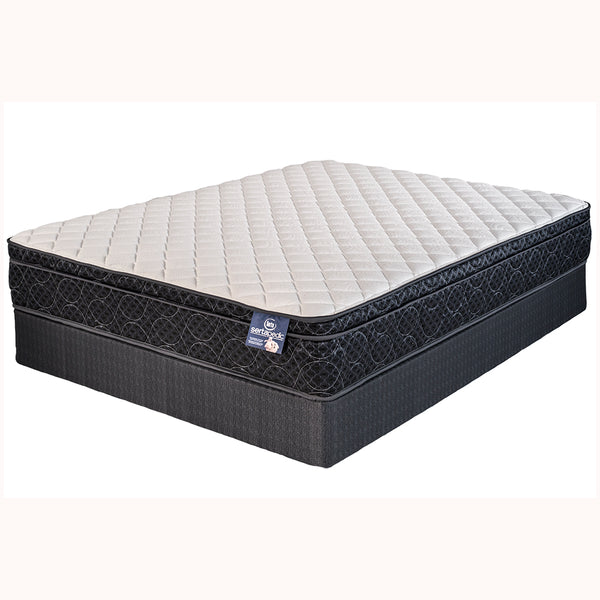 640 Continous Wire Innerspring Serta Euro Top Plush Mattress