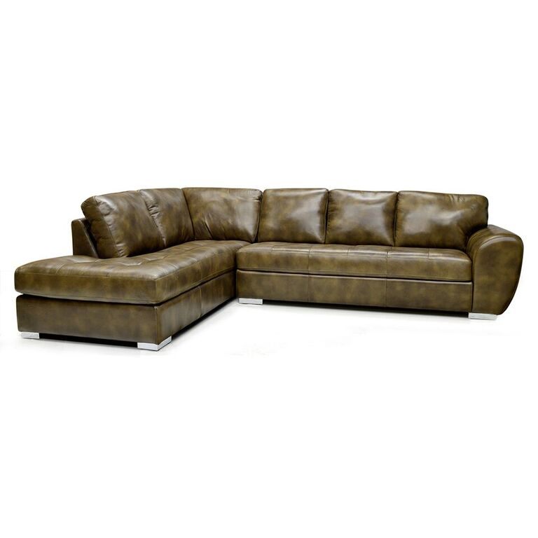 Canadian Made Custom Leather Sectional - KELOWNA