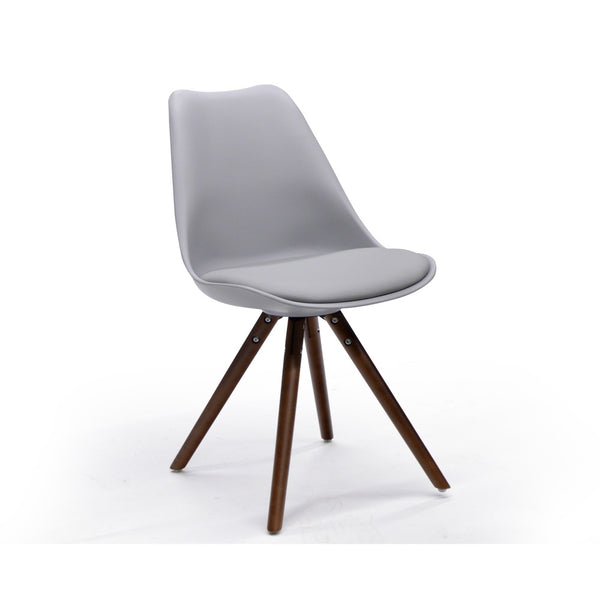 Modern Grey Side Chair -  Klein