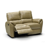 Top Leather Match Recliner Loveseat - LH9087