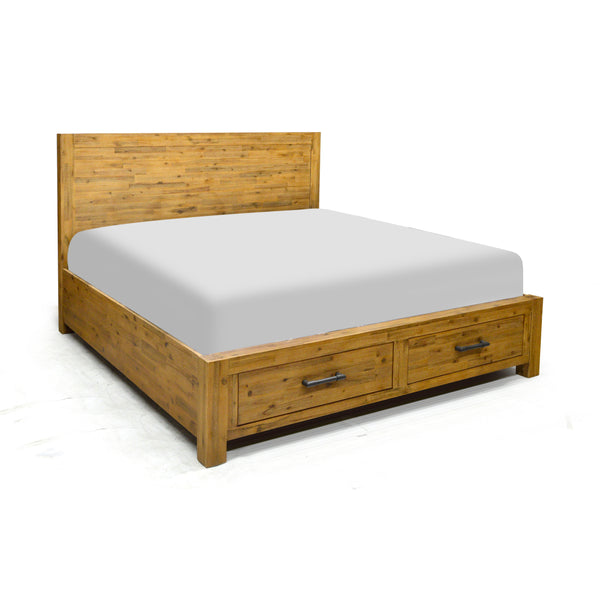 Storage King Bed- Workshop