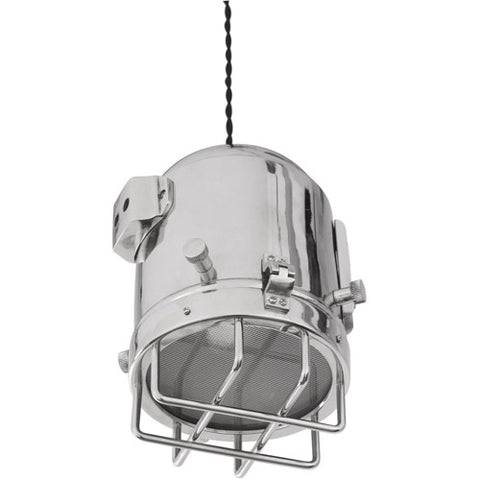 Charleston 1 Light 8 inch Nickel Pendant Ceiling Light -  LPC4047