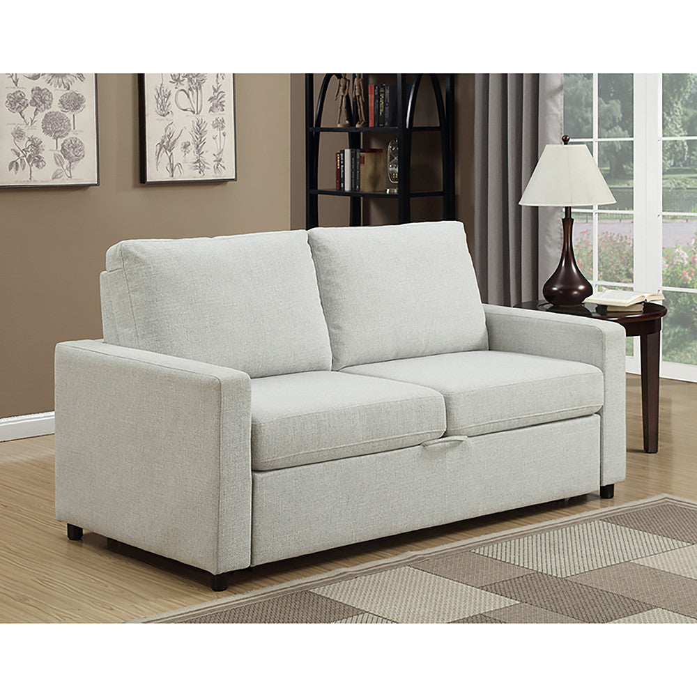 Edmonton Furniture Store Modern Chenille Memory Foam Pull Out  ~ Modern Pull Out Sofa Bed