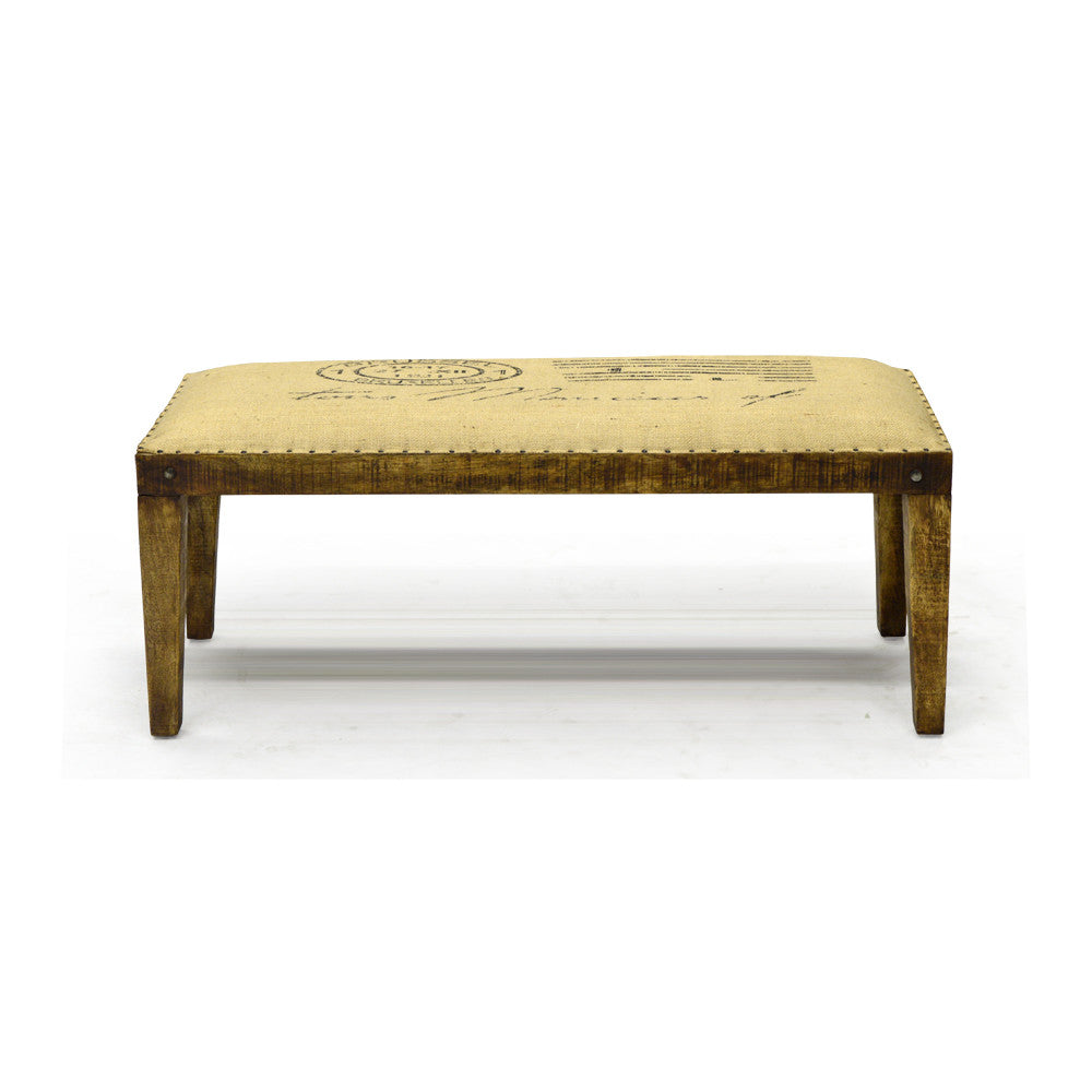Natural Wood Bench - 50064