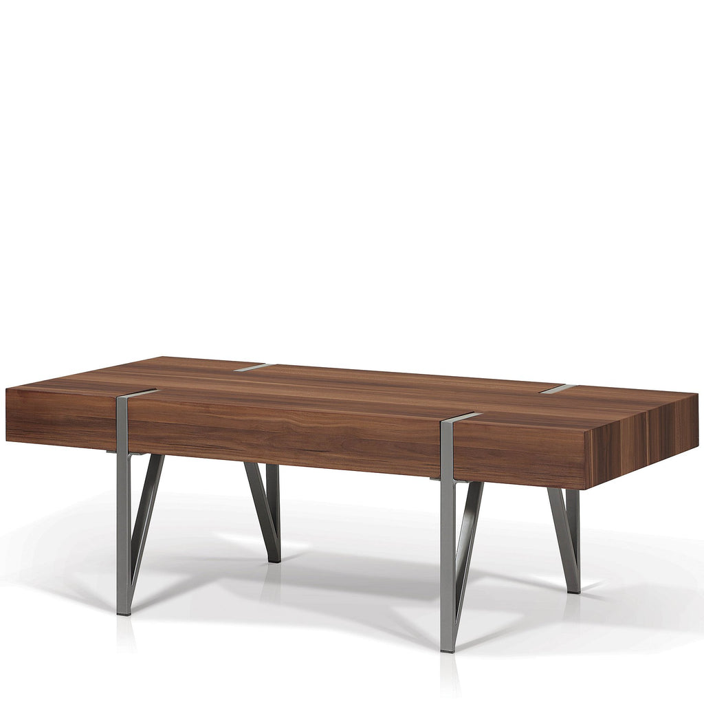 Rectangular Slab Top Coffee Table - Nagoya