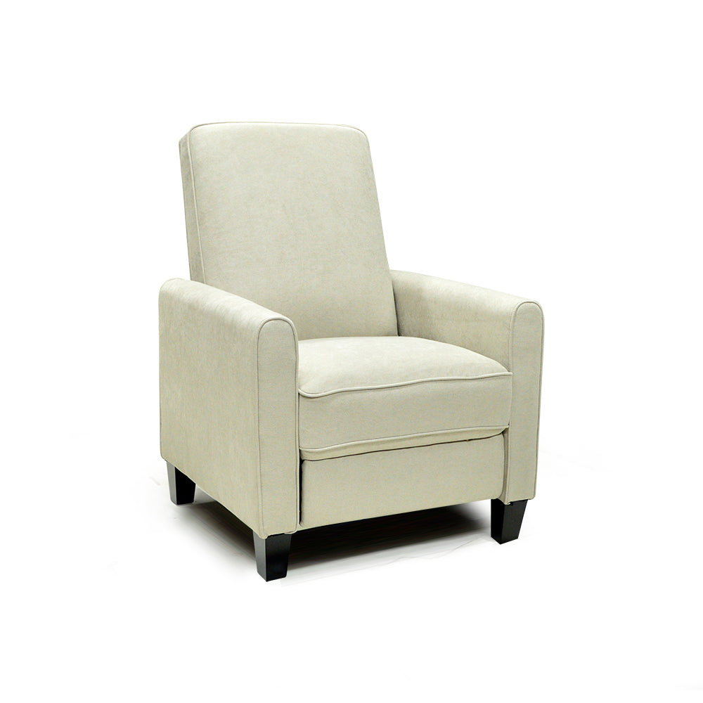 Push Back Fabric Accent Chair
