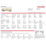 Palliser Custom Power Reclining Sectional - Push