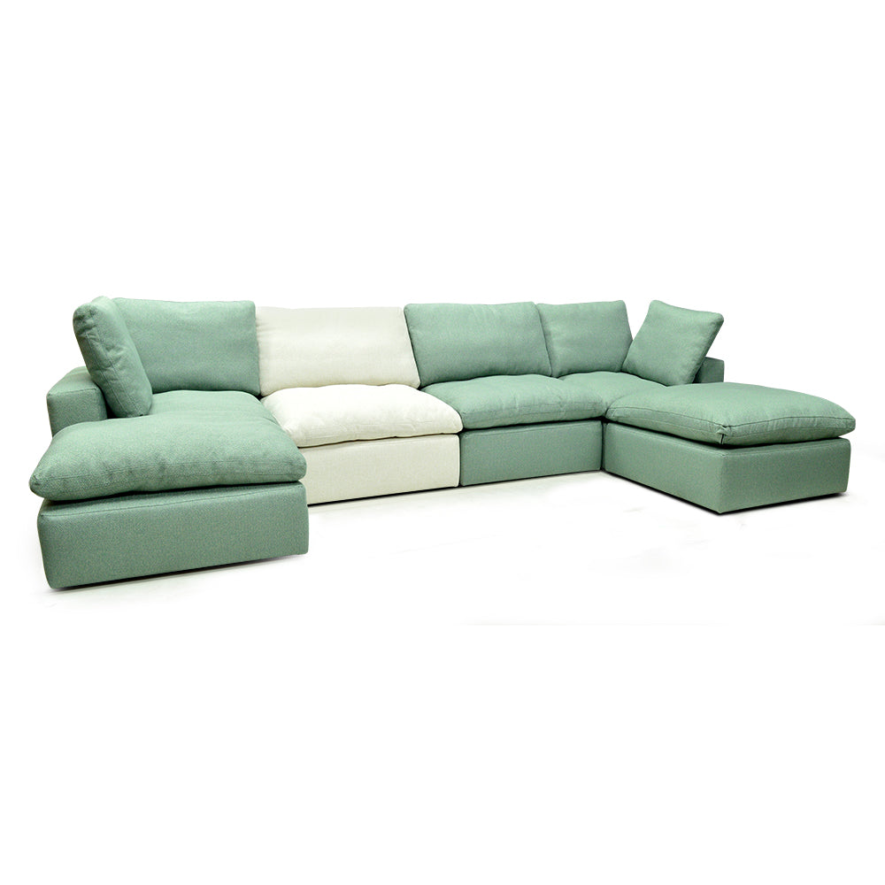 Canadian Made Custom Palliser Fabric Sectional - Bloom