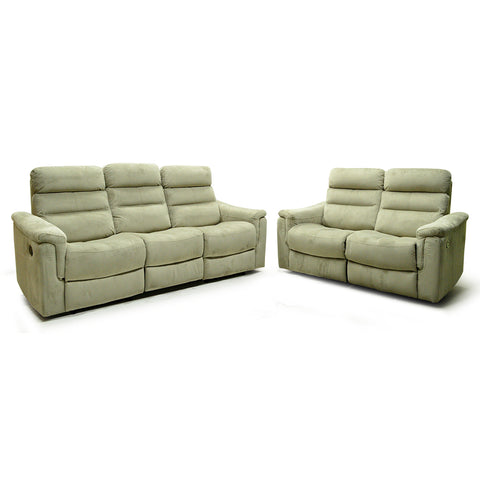 Fabric Recliner Living Room Set- R7247