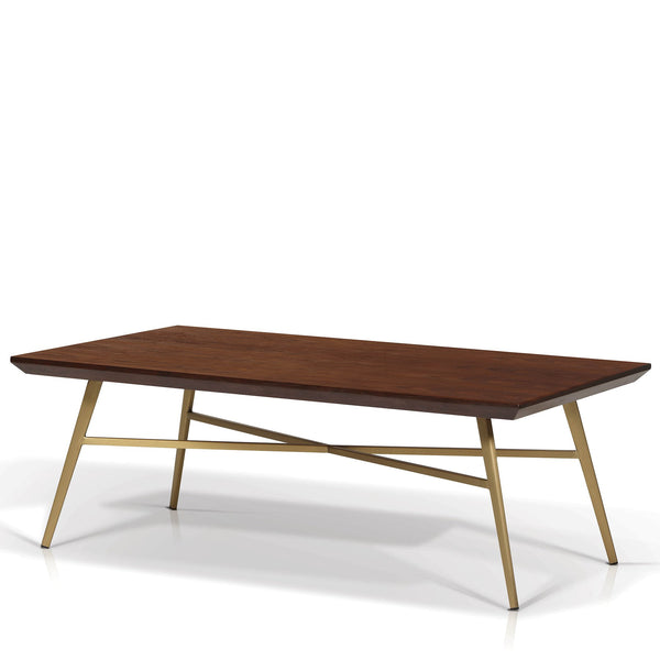 Walnut Top Coffee Table - SPD2091