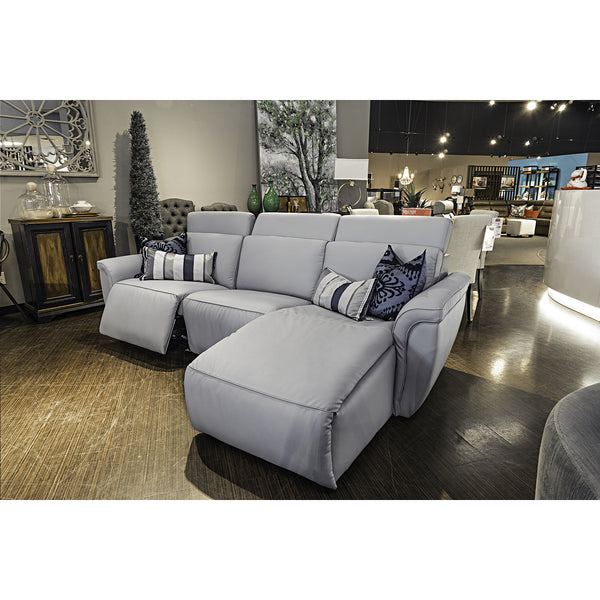 Edmonton Furniture Store | Palliser Custom Made Power Reclining Sectional - Shorecrest
