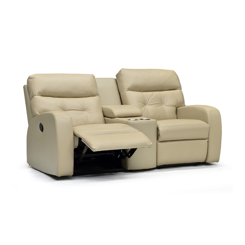 Customizable Leather Recliner Loveseat - Southgate