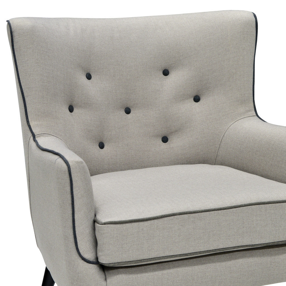 Custom Accent Chair with Baseline - 397