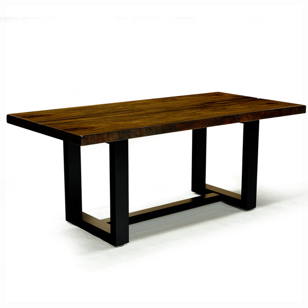 Live Edge Solid Wood Dining Table - Vanessa