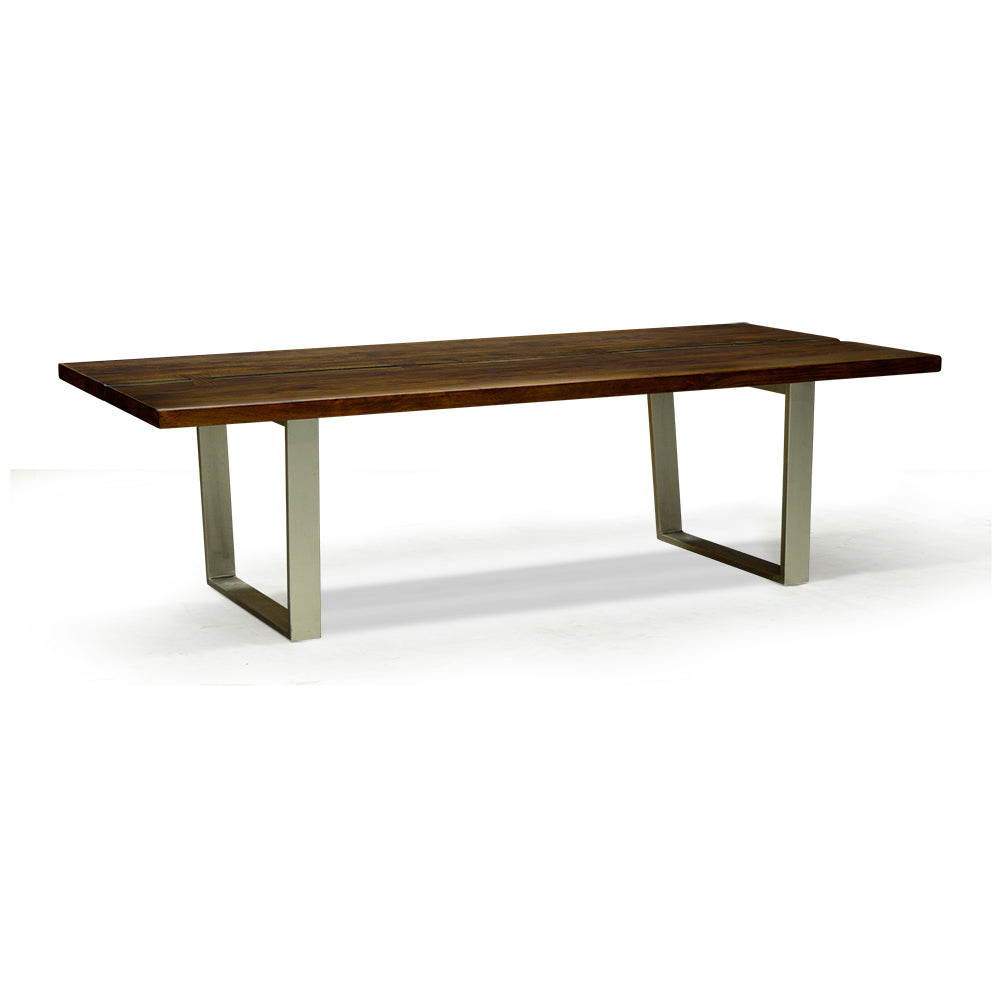 Solid Acacia Live Edge Coffee Table