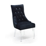 Accent Chair in Black Color - Cavalli