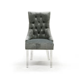 Accent Chair in Grey Color - Cavalli