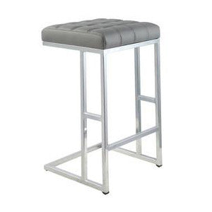 Grey Bar Stool - Ace