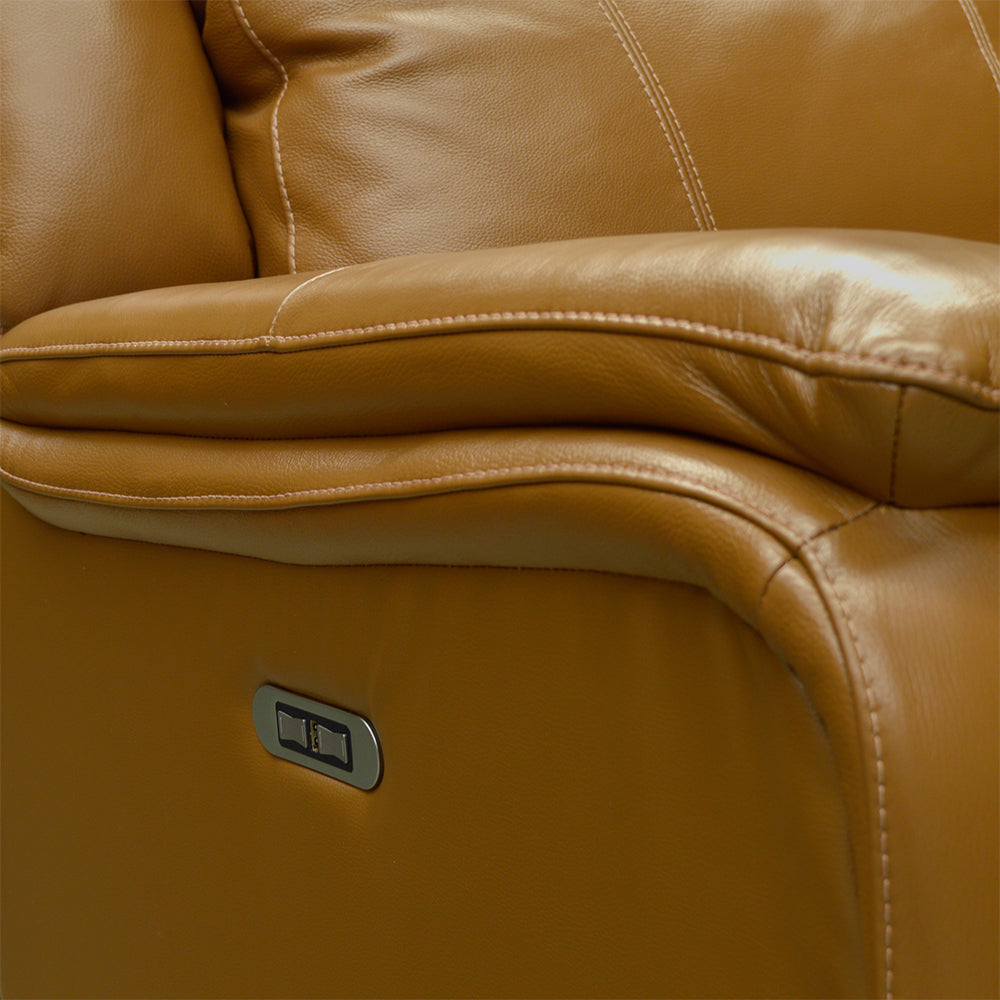 Palliser Custom Made Power Recliner w/ Power Headrest Sofa - Buckingham