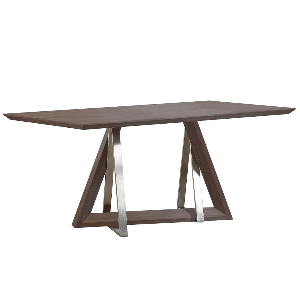 Walnut Color Dining Table - Drake