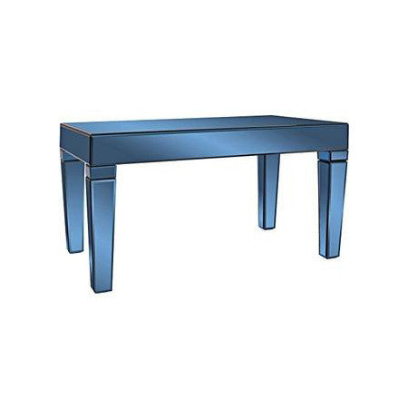 Blue Glass Coffee Table