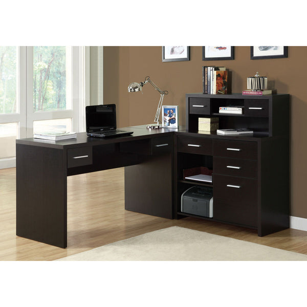 Contemporary Looking L Shape Office Desk