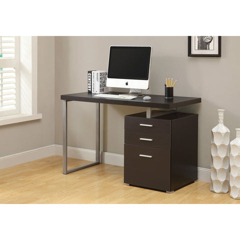 Contemporary Computer Desk with 3 Drawers- I 7026, 7027, 7226, 7326, 7426