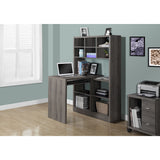 Contemporary Computer Desk and Shelf Unit- I 7041