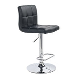 Black Color Color Bar Stool - Max