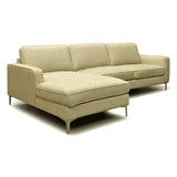 LHF Tufted Fabric Sectional Sofa- S7298