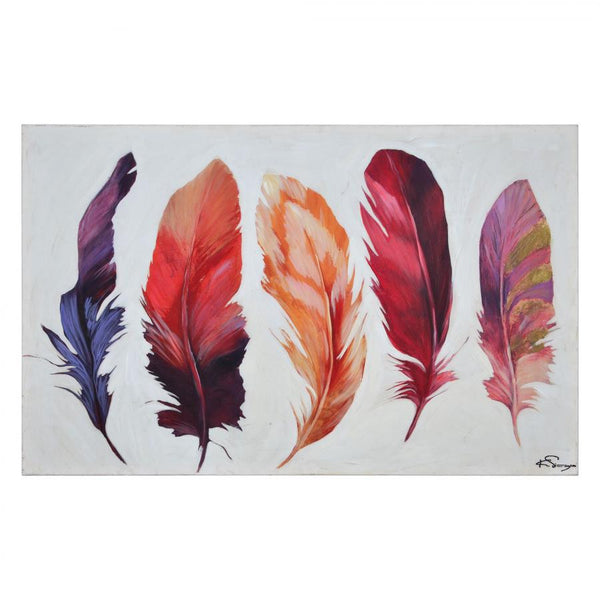 """Feather Bliss"" Painting - OL1418"