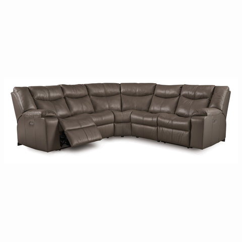 Canadian Made Custom Palliser Power Headrest Reclining Sectional - Delta