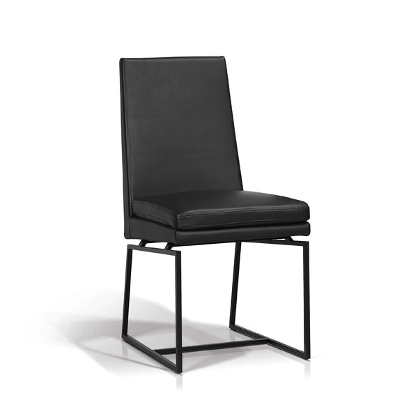 Black Metal Leg Dining Chair - Neo