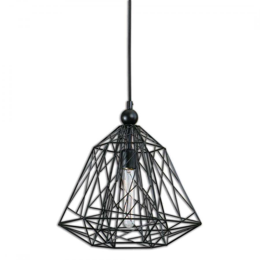 Paxton Pendant Light MATTE BLACK Chandeliers - 22020