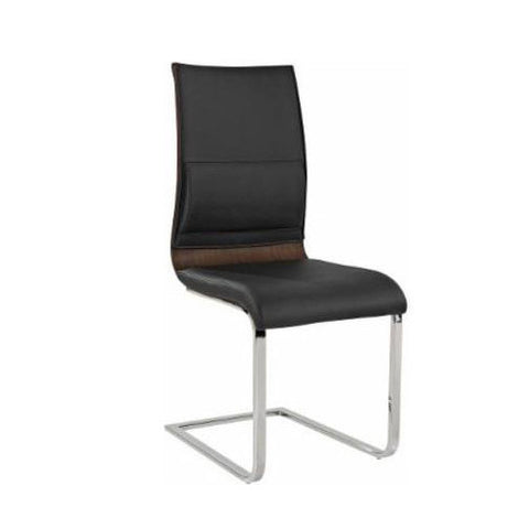 Walnut Color Side Chair - Veneta