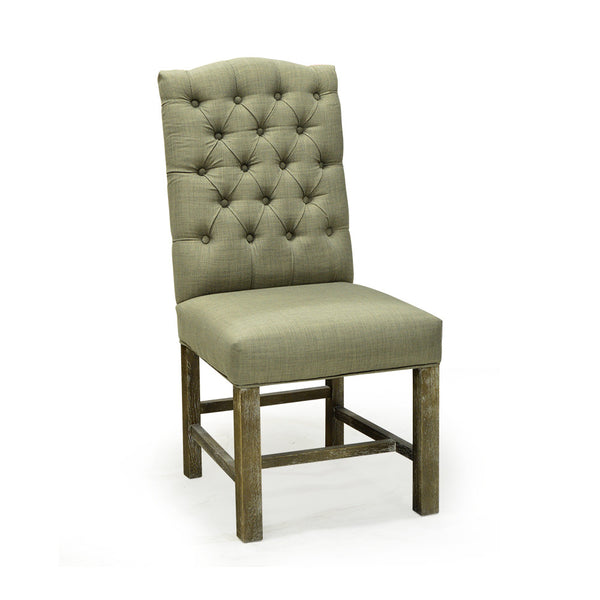 Tufted Upholstered Dining Chair