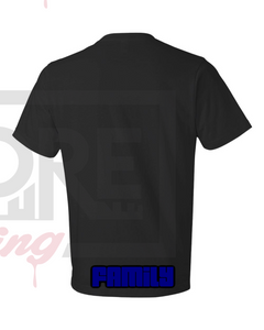 IIW1F Concept Logo 1 on Black Tee---NOT FOR SALE
