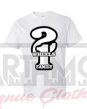 IIW1F Concept Logo 1 on White Tee---SAMPLE NOT FOR SALE