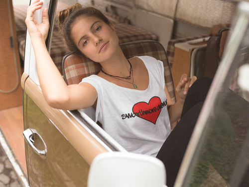 Swarthmore Avenue Heart Crop Tee