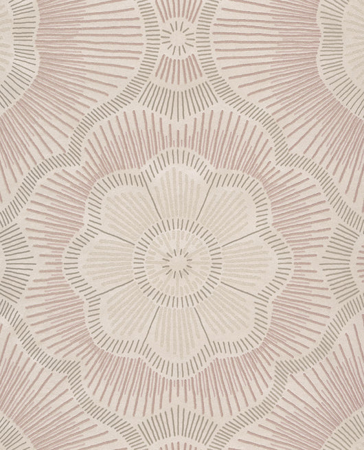Coco Blush Luxury beaded wallpaper
